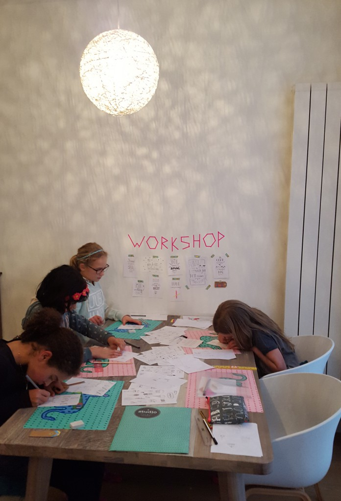 workshop handletteren